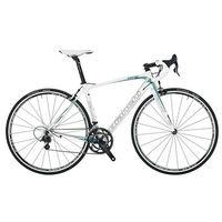 Bianchi C2C Intenso Veloce Compact Dama Bianca Womens Road Bike 2014