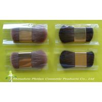 Double-head Makeup brush,Double-headed Cosmetic brush, Double Headed brush,Double sided brush,Double