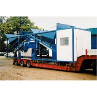SUMAB Sweden Easy to transport K-80 (80m3/h) Mobile plant