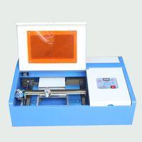 3020 desktop 40watt small co2 laser cutting machine
