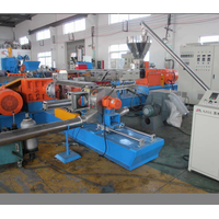 2020 New design PET plastic granules twin screw extruder/plastic pellet making line