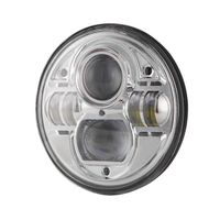 UNISUN 7inch Round High Low Beam LED Head Lamp