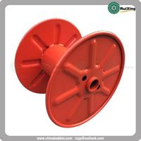 Punching bobbin Great quality steel metal drums steel reel spool for cable wire