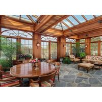 Fashion design good quality glass sunroom