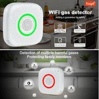Easy Install Smart Home Tuya APP Remote Control WiFi Gas Leak Sensor Detector Alarm thumbnail image