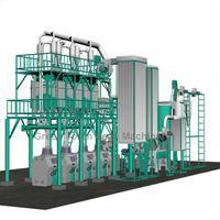 50T/24H Maize Mill Machine thumbnail image