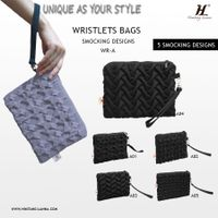 Girl Floral Purses bags with smocking design thumbnail image