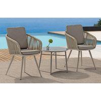 Aluminum bistro set,outdoor furniture,coffee chair