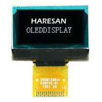 0.96 Inch White OLED Display 15 Pin thumbnail image