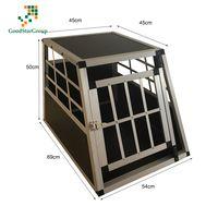 Jaulas De Transporte para Perros De Aluminio con Tabique Hermetico Extraible thumbnail image