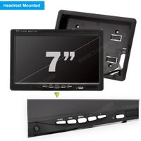 7inch Headrest TFT LCD Digital Monitor (TOP-007D) thumbnail image