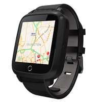 1.54inch screen 3G smart watch with Android 5.OS and 420mAh battery MTK6580 chipset