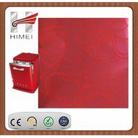 PVC film laminated steel for dish-washing machine