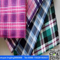stock lot cheap cotton yd flannel fabric for shirt