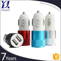 New CE RoHS usb Car battery mobile phone fast car charger