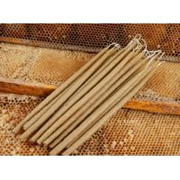 32pcs Natural hand dipped Beeswax Candles 100% Pure 1lb Total Weight