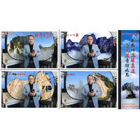 Fast Photograph System Make and Print 20000+ Photos Per Day 3D Photo Sticker Booth \ Virtual Studio