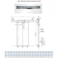 Mitsubishi Type Elevator Door System