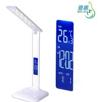 Manjia MJ-T32 Touch Dimming Folding LED Table Lamp with LCD Screen reading lamp From China Shenzhen