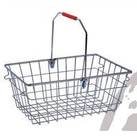 metal shopping basket 25L