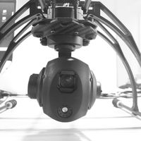 TGD05T3 5x gimbal camera for drone with thermal imaging