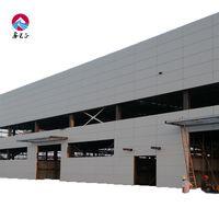 Industrial 20T Crane Heavy Steel Structure Car Workshop Prefab Workshop