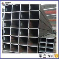 Q235 Building Material Mild Black Square Steel Tubes Pipe