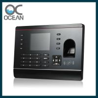 Fashionable OEM/ODM fingerprint time attendance machine with SDK and optional TCP/IP
