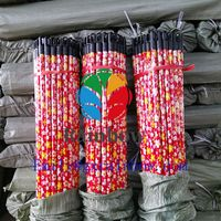 Machine making plastic panda pvc coated metal wood Broom stick wooden handle for broom thumbnail image