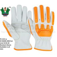 ANSI Cut Level A3 & A6 Resistant Gloves