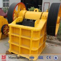 YUHONG small crusher machine PE 400*600 for sal