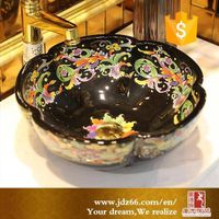 Wholesale small ceramic wash hand basin