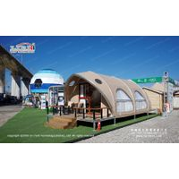 Luxury Shell Shape Glamping Tents for Hotel Services