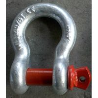 US G209 Bow Shackle Galvanized Drop Forged with Pin Screw