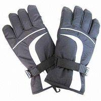 Mens skiing gloves thumbnail image