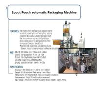 Food Spout Pouch Packing Machine