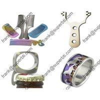 Titanium Crafts, Titanium Comb,Titanium Bracelet,Titanium Ring,Titanium Fishing Rod,
