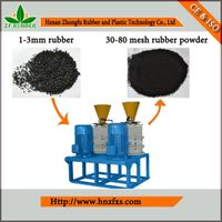 Tyre Crushing Plant--Rubber Fine Milling Machine