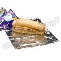 Interfolded aluminum foil sheets for food package