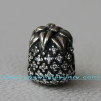 Sterling Silver Jewelry With Threaded Core