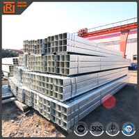 hot dip galvanized square tube