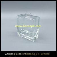 China glass manufacturer French style simple perfume bottle 50ml