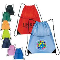 Cheap Nylon Zippered Drawstring Backpack,Cheap Nylon Zippered Drawstring Backpack Wholesaler thumbnail image