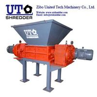 China Double Shaft Shredder for tire, wood, plastic, cable, metal, paper, cloth crusher shredder rec