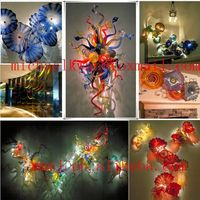 Wholesale Hand made decorative blown murano art glass wall art