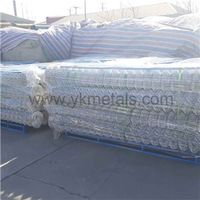 Hot Dipped Galvanized Chain Link Fence chain mesh fencing Electro Galvanized Chain Link Fence thumbnail image