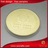 Die stamping business gift souvenir metal coin