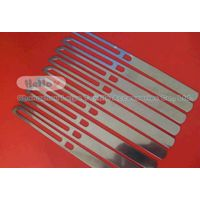 stainless steel drop wire for weaving loom
