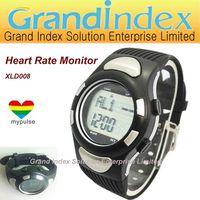 Pulse Heart Rate Monitor Calories Counter Fitness Women & Men sports Watch XLD008