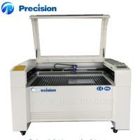 Cnc CO2 laser cutting machine price with ABBA square rail sub-brand of SKF JP1390